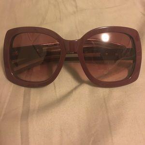 Merlot Square Chloe Sunglasses